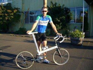 Bike Friday's first 16-pound Super Pro folding bike
