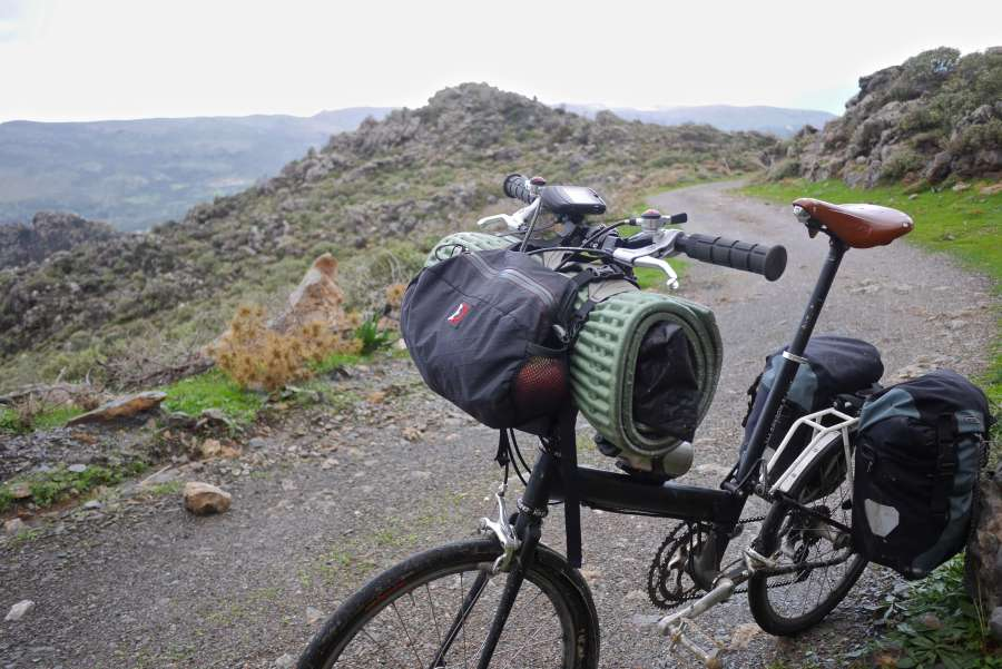 Minimal gear for a bike expedition in Greece