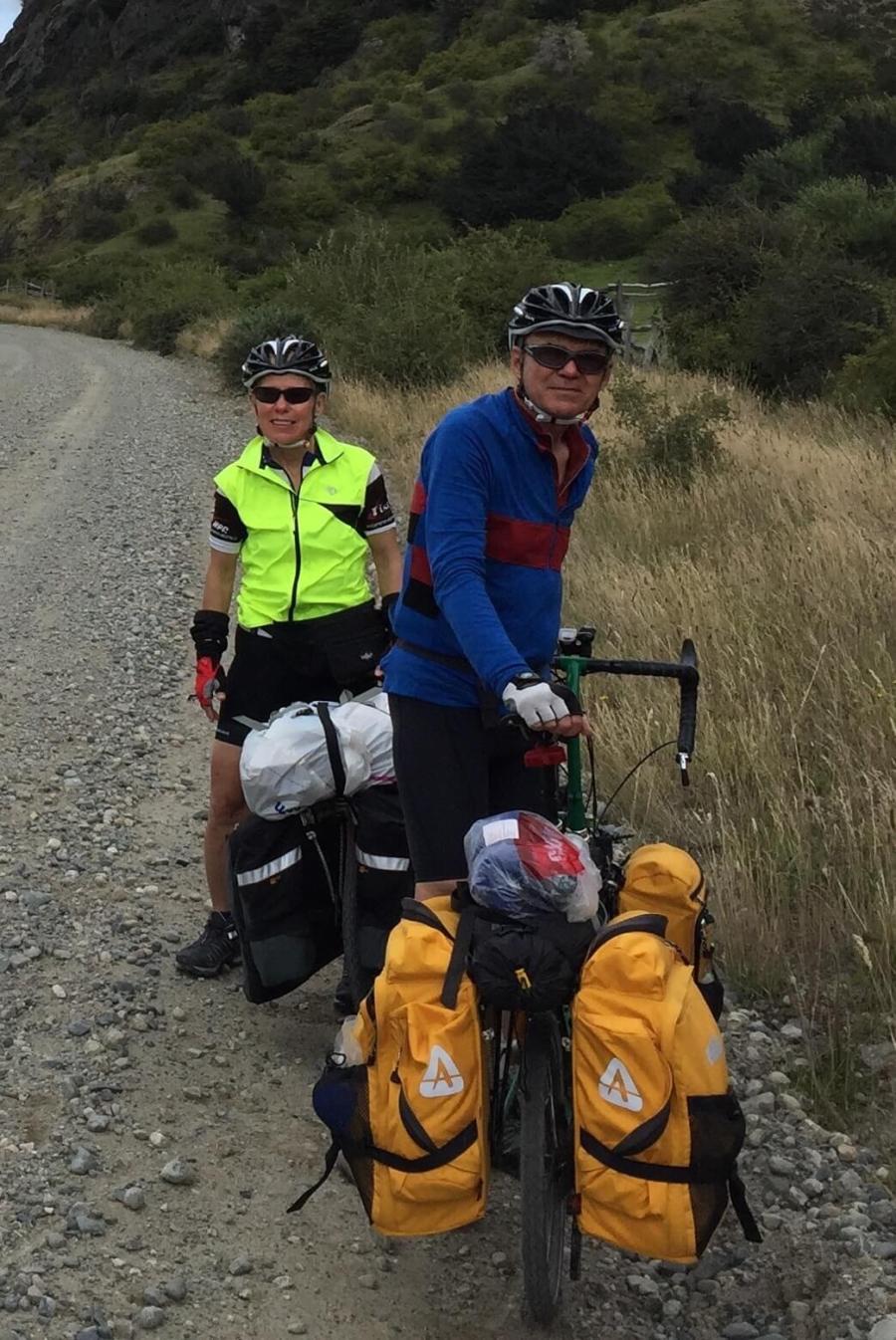 Touring Patagonia on folding bikes