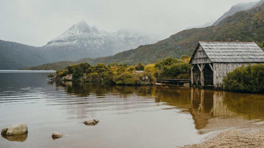 Tasmanian mountain