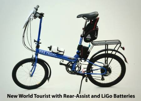 Bike Friday New World Tourist E-Bike