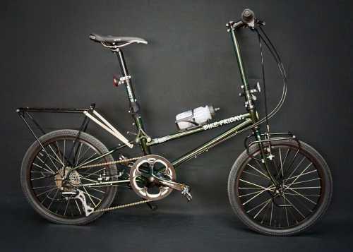2019 Bike Friday Diamond Llama world travel bike