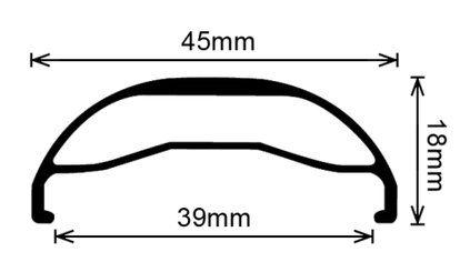 Velocity Dually Mountain Bike DISC Rim