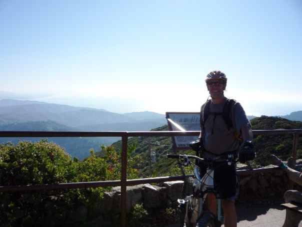 On top of Tam, where mountain biking was born