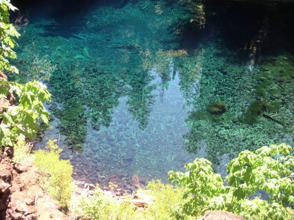 Tamolitch Pool aka Blue Pool or Blue Hole