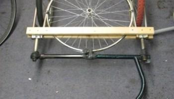 Haken-up Tandem-Bike