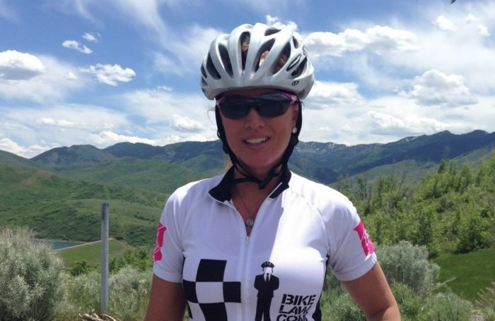 Utah Bicycle Accident Lawyer Jackie Carmichael