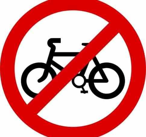 no bike sign, bicycle accident, bike crash, bicycle accident attorney, bicycle accident lawyer,