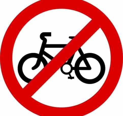no bike sign, bicycle accident, bike crash, bicycle accident attorney, bicycle accident lawyer,