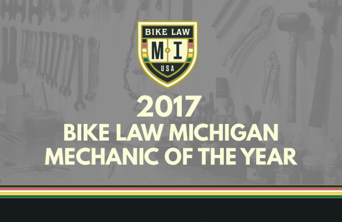 Bike Law - 2017 Michigan Award