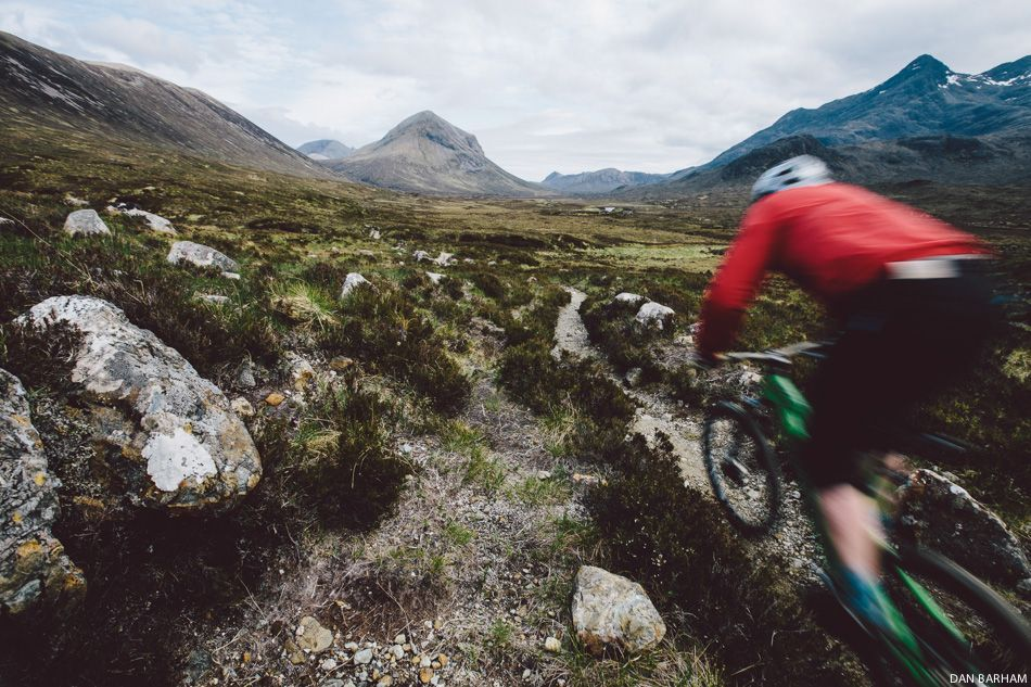 Richard Cunynghame prefers his trails earthy and rugged. The smooth stuff doesn't excite him.