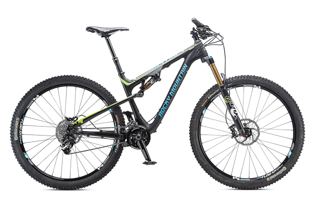 '14 Bible of Bike Tests Roundtable Reels: Rocky Mountain