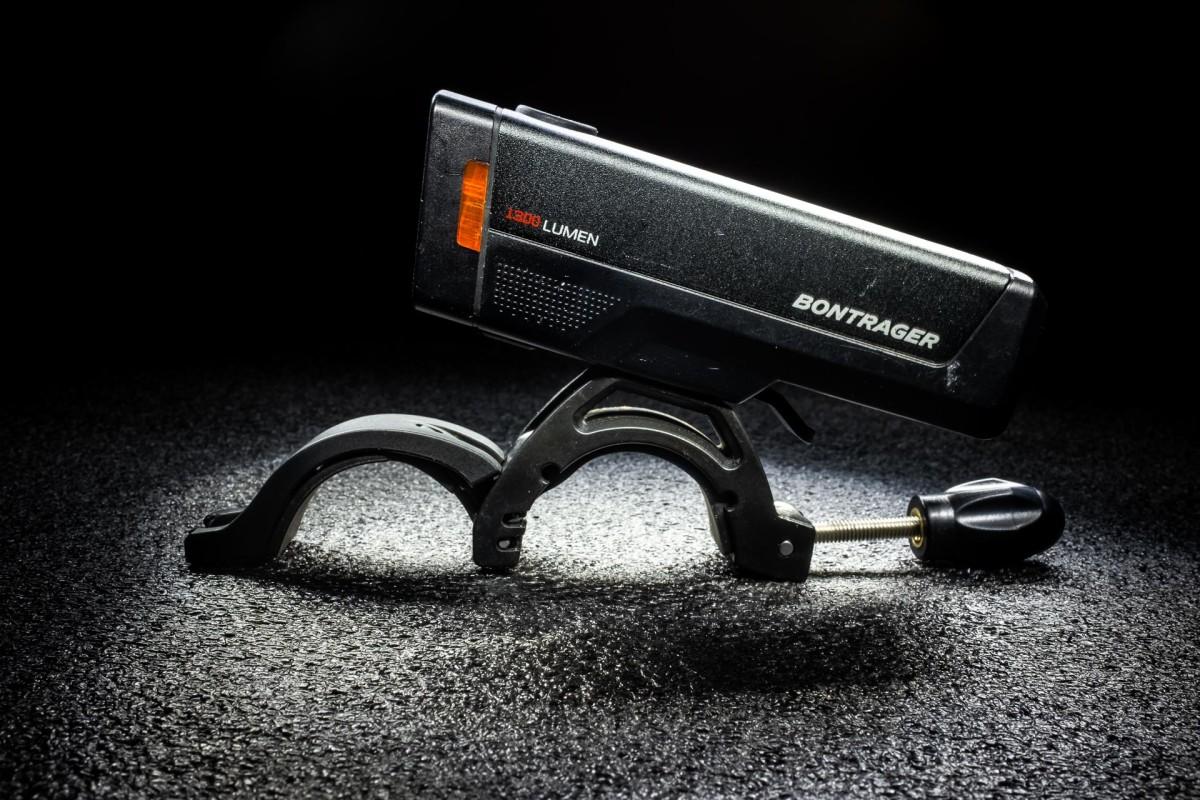 1,300 lumens and Bluetooth Bontrager Ion Pro RT Front Bike LightANT