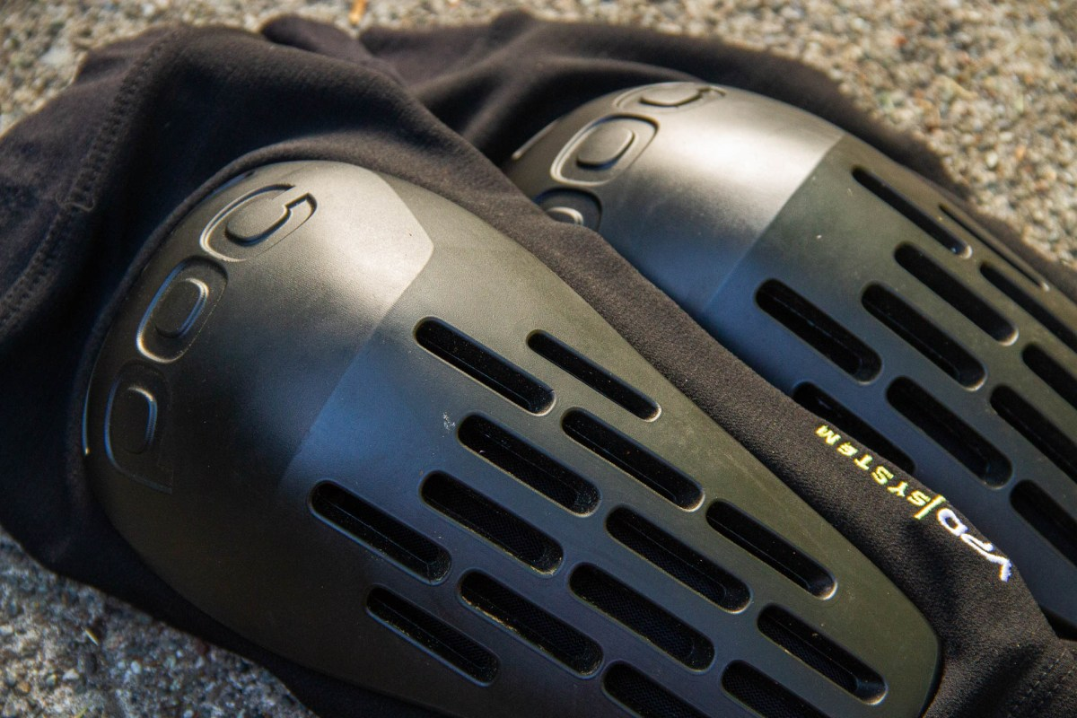 The System Lite is a cross between an XC sleeve, a hardshell brute and a radiator for your knees. Those vents really work.
