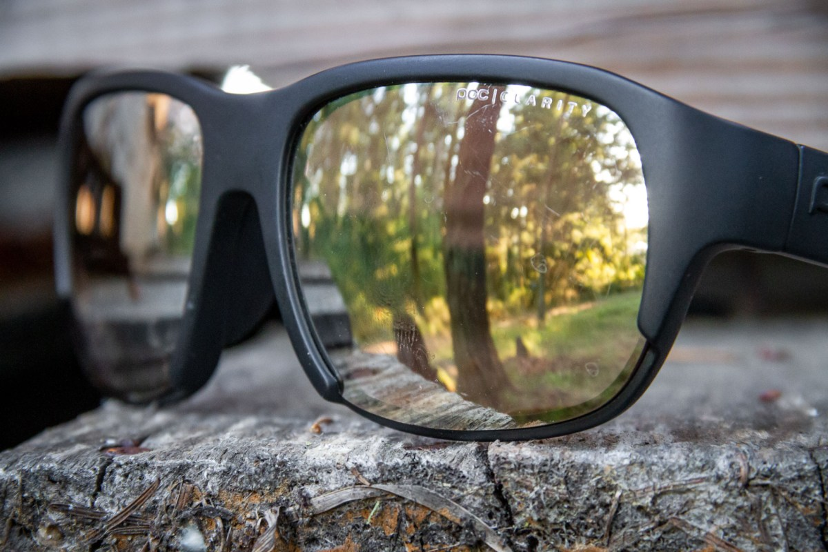 The Clarity lenses are some of the sharpest I've looked through. They are dark enough to just dampen the harsh sun, but light enough to use in the forest.