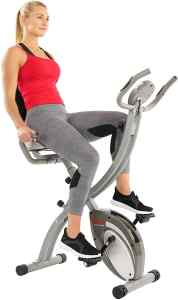 sunny health and fitness folding recumbent bike reviews