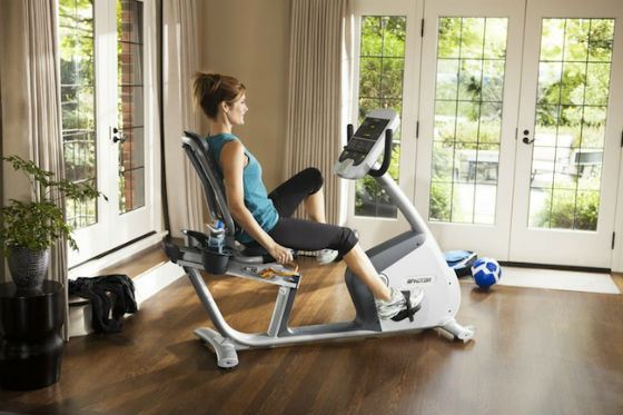 Precor RBK 835 Commercial Series Recumbent Exercise Bike