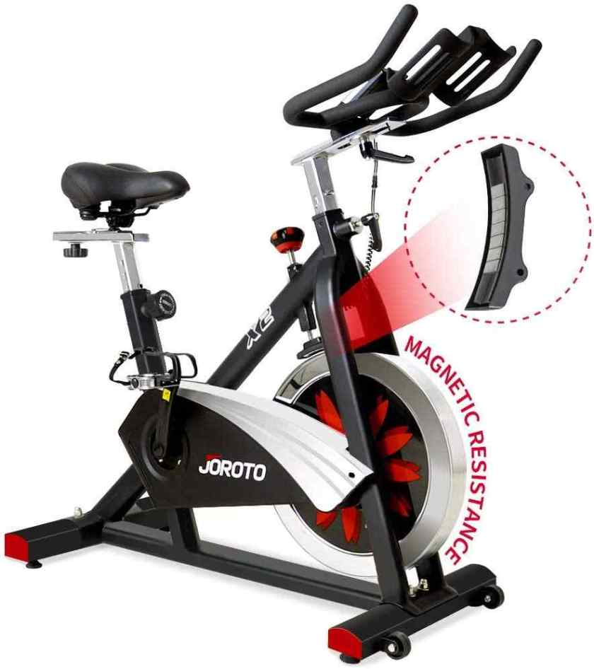 JOROTO Belt Drive Indoor Cycling Bike