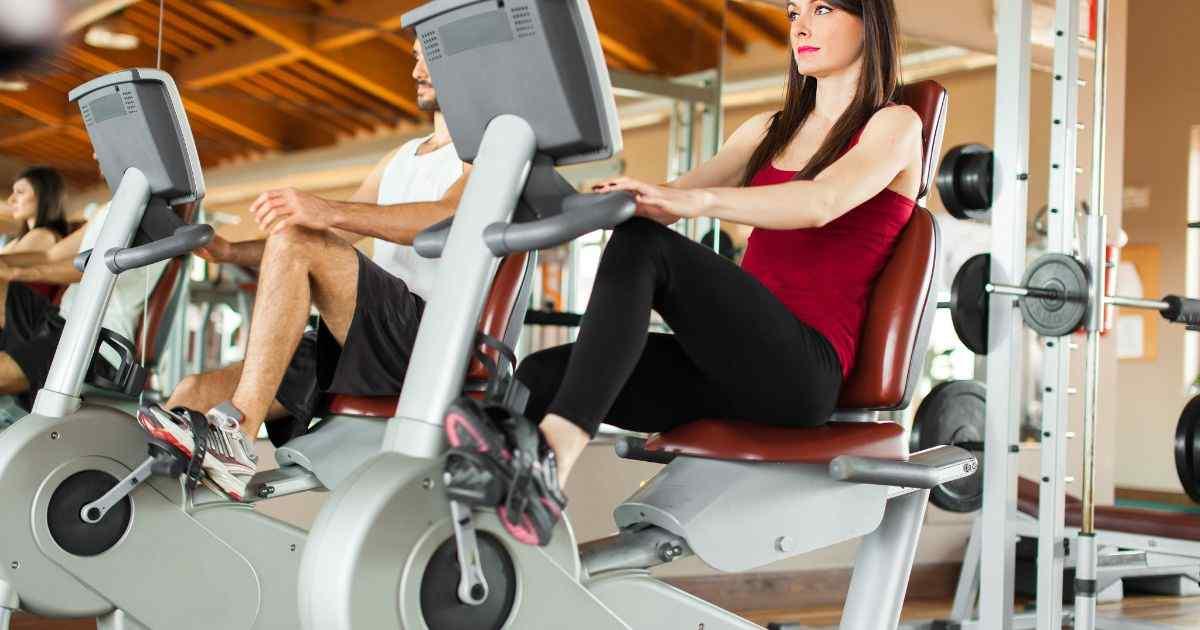 stationary bike benefits for legs