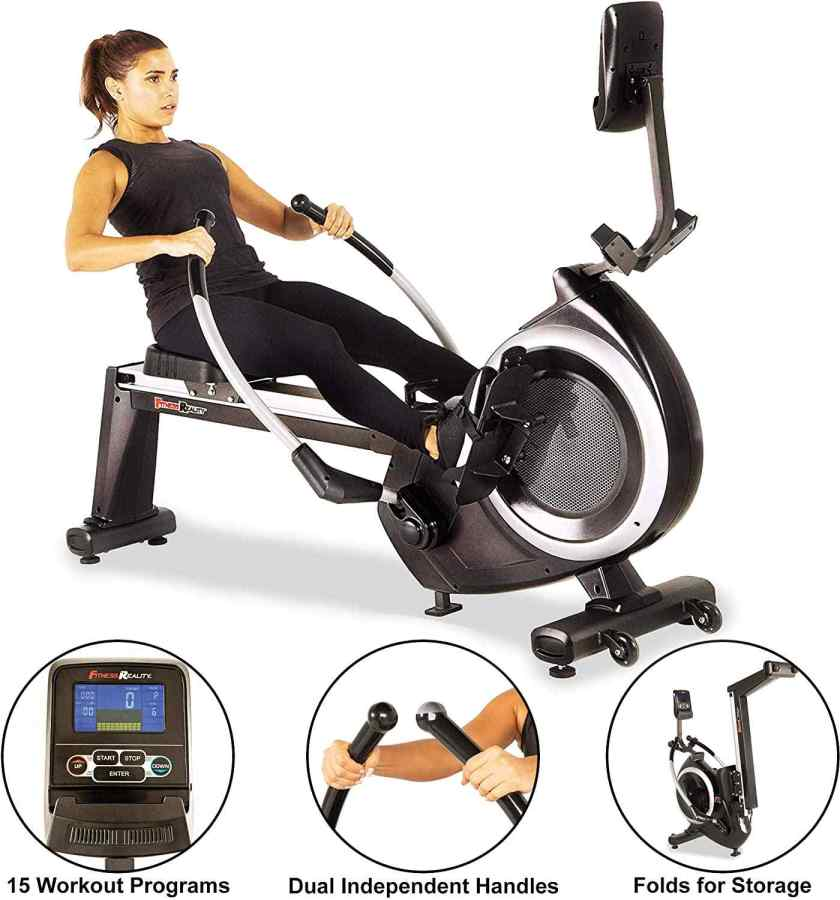 fitness reality rowing machine