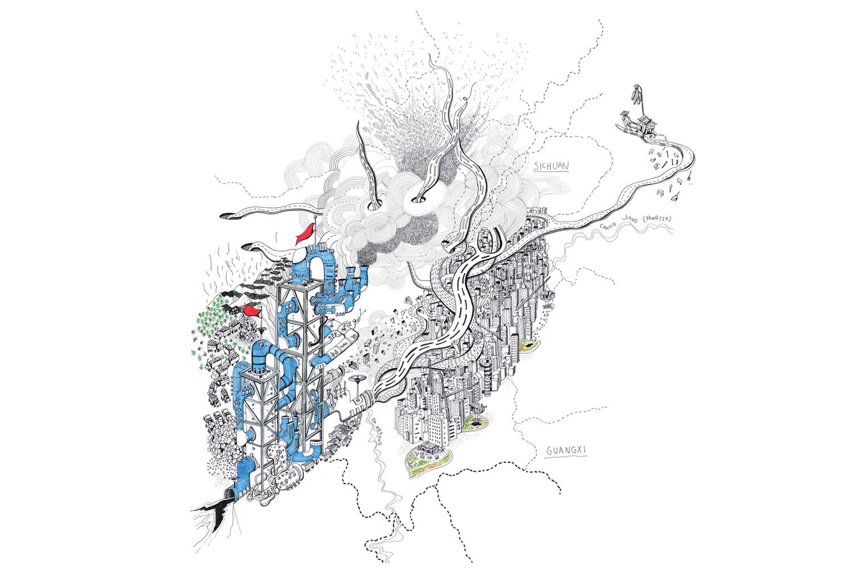 Rider's Lens: The Storytelling Maps of Alex Hotchin