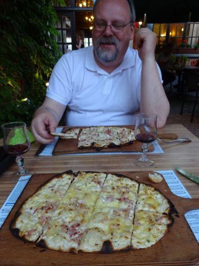Abendessen im Hotel Aux 2 Roses