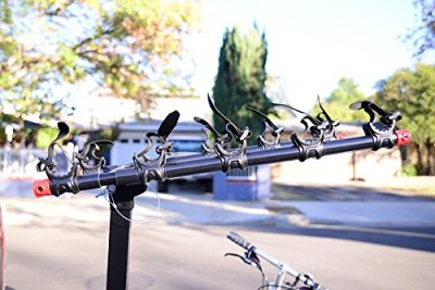 Allen Deluxe 5 Bike Hitch Mount Bike Rack 3
