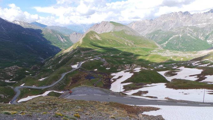 Tour de France 2015 - Stage 5 near the top of the Galibier