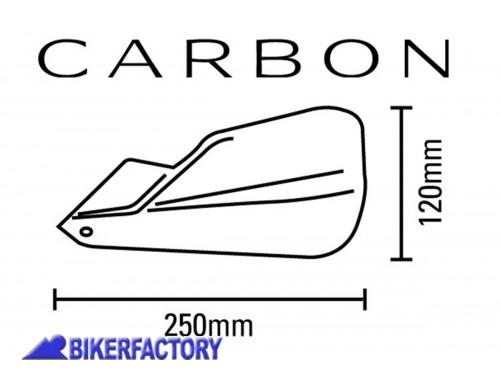 Paramani BARKBUSTERS CARBON BHG 033 00 per Moto Guzzi NTX