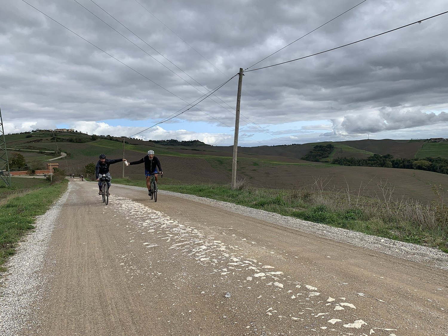 Cycling on the Eroica path