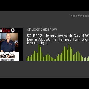 bikerliferadio chuckndeb inview helmet light davidwerner podbean video share