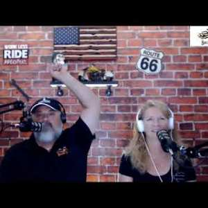 biker life tv: long way around with toy hauler featuring the chuck n deb show
