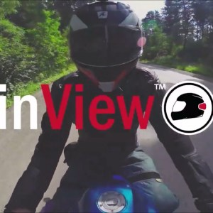 Foremost Insurance Promo video cut for inView the helmet brake and turn signal light.