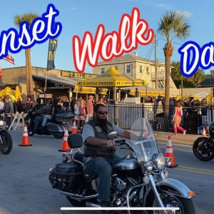 Daytona Bike Week | Sunset Walk | Main Street