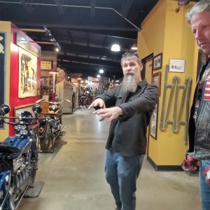 PERSONAL TOUR WITH MATT WALKSLER AT THE WHEELS THROUGH TIME MUSEUM