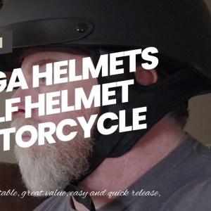 Vega Helmets Half Helmet Motorcycle Unisex-Adult