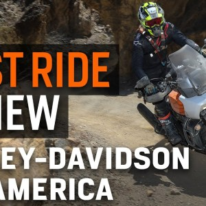 2021 Harley-Davidson Pan America First Ride Review