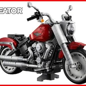 Harley Davidson Fat Boy LEGO Creator Expert - LEGO Speed Build