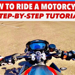 How To Ride a Motorcycle For Beginners (Shifting, Gears, Friction Zone, Braking and MORE!)