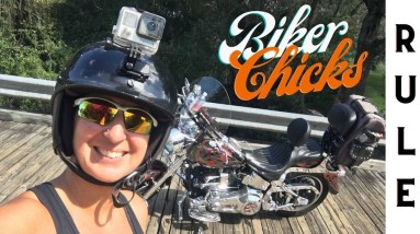How to become a Biker Chick Harley Davidson | BADASS SUNDAY WITH MOMMA BADGER