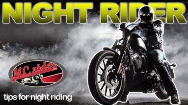The Dangers of Riding a Motorcycle at Night