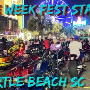 BIKE WEEK FEST 2021, Myrtle Beach Sc, may 26th . WED NIGHT- Part 1-