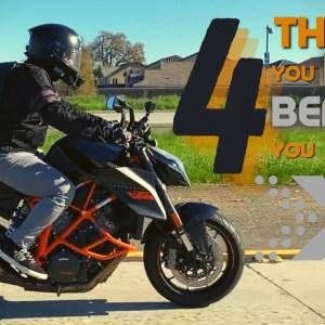 The FOUR THINGS you need before you start riding MOTORCYCLES