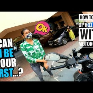 BIKERS PICKUP HOT GIRLS | How to Pick up girls With Motorcycle | Darsh Sharma