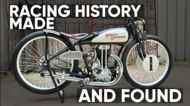An Iconic Racer - A Historic Machine