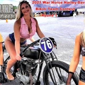 2021War Horse Harley-Davidson, Too Broke For Sturgis, Bikini Coast Intl Competition, Round 1.