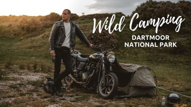 Wild Camping With Wingman of The Road   Dartmoor National Park   Motorcycle Tour