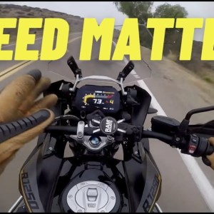 Why Your SPEED Determines Everything | Motorcycle Cornering Tips | Trail Braking