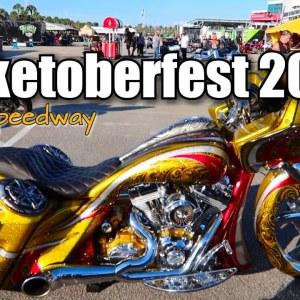 Biketoberfest 2021 Daytona International Speedway... Bikes, Slingshots, Vendors and More