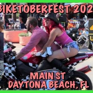 Biketoberfest 2021 - 4K - Daytona Beach - Main St - Saturday - Sexy Girls - Cool Bikes - Bike Week